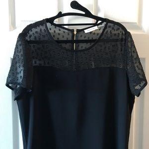 Calvin Klein Dresses - NWT Black Calvin Klein Shirtdress Size 14